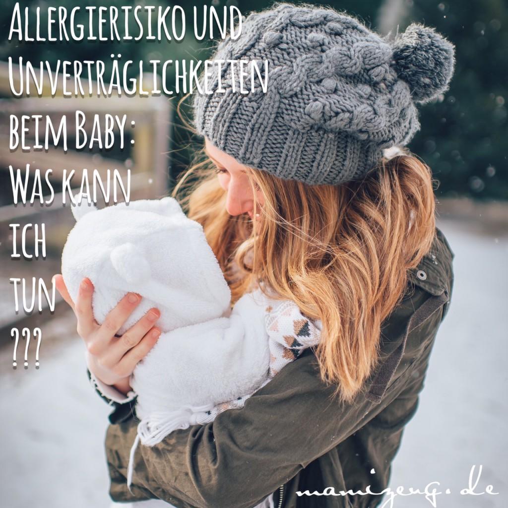 Allergierisiko und Unverträglichkeiten beim Baby: Was kann ich tun?
