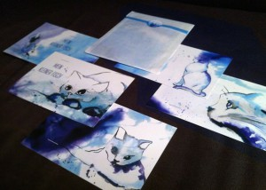 Mein kleiner Fisch Postkarten