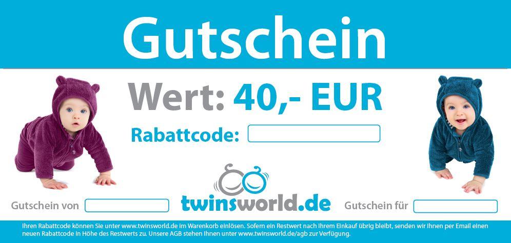 Twinsworld.de gutschein 40 euro