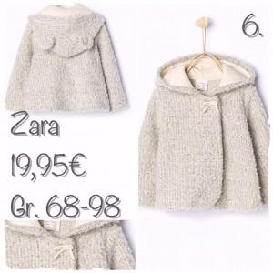 Windjacke mit Kapuze und Ohrendetail von Zara_Nr. 6