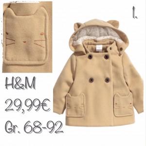 Zweireihiger Mantel von hm_Nr. 1