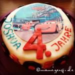Cars Torte für Kindergeburtstag