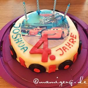 Geburtstagstorte Cars