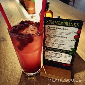 handgemachte Himbeer-Limonade