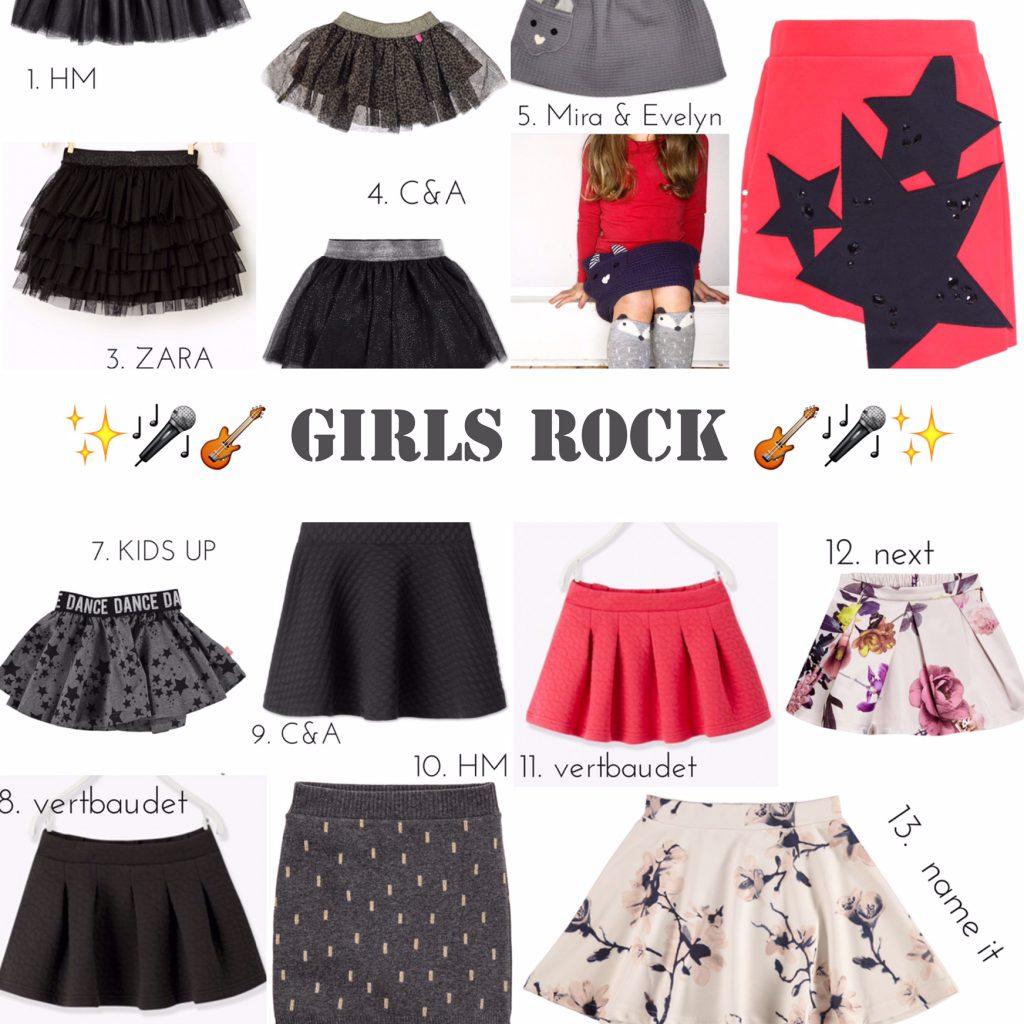 GIRLS ROCK: 13 coole Röcke für Mädchen