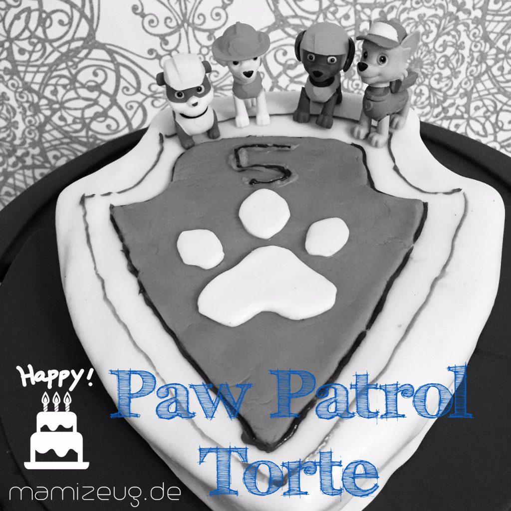 Paw Patrol Torte für Kindergeburtstag