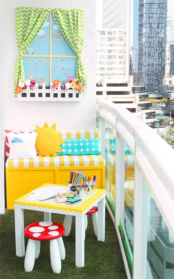 Leben Mit Kindern 10 Smarte Ideen Fur Balkon Terrasse Und Garten