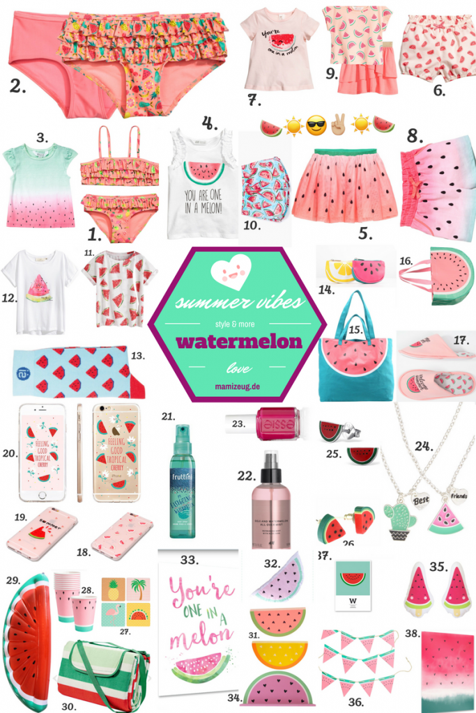 Summer Vibes: Watermelon Love