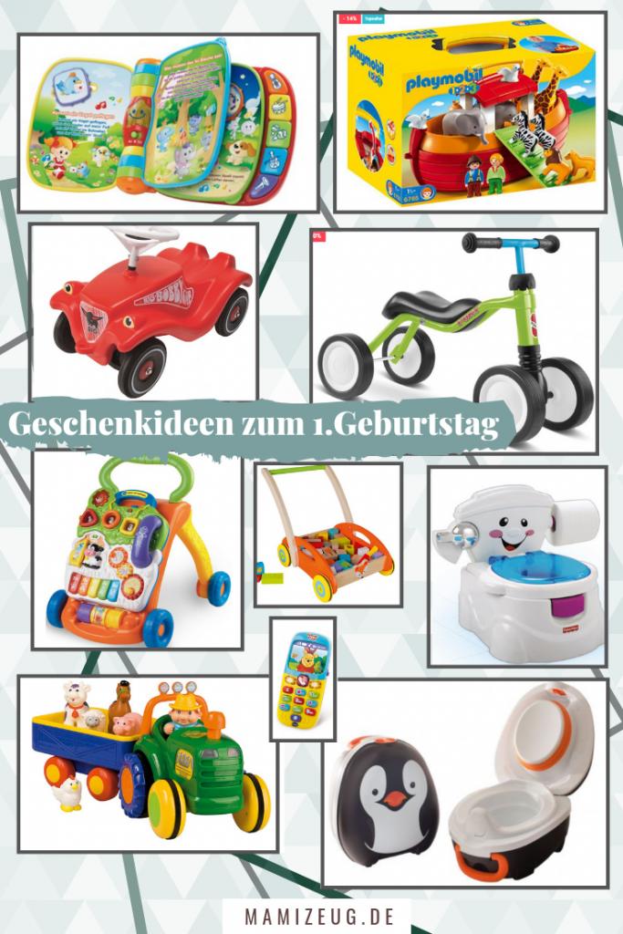 Geschenkideen für Kleinkinder von 1 bis 2 Jahren, zum Beispiel zum 1. Geburtstag