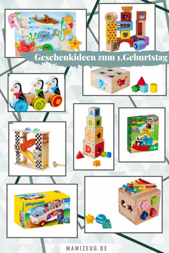 Geschenke zum 1. Geburtstag bis 15€