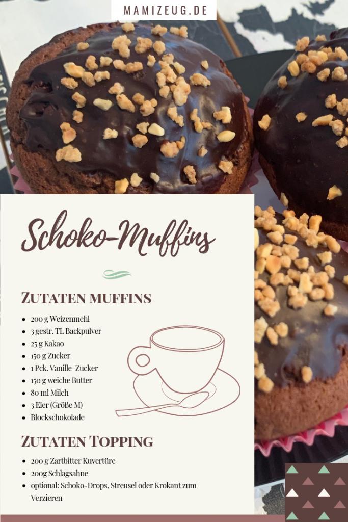 Schoko-Muffins Rezept