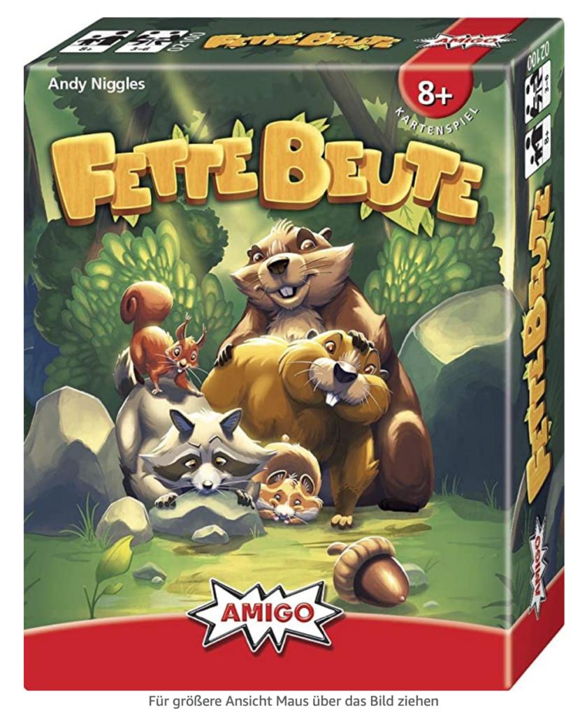 Fette Beute - ein tolles Kartenspiel für Spieleabende mit der Familie